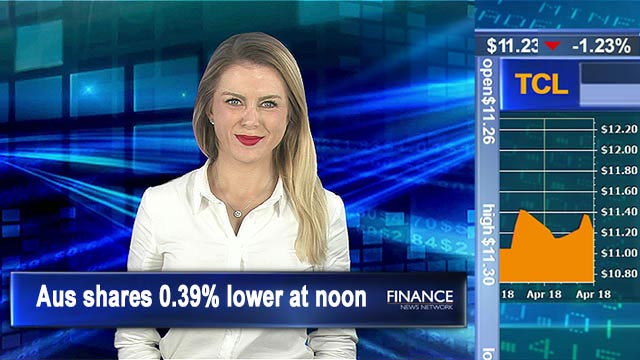 Trump jitters ASX on Thursday: Aus shares 0.4% lower at noon