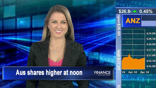 Miners lead on iron ore: Aus shares 0.14% higher at noon