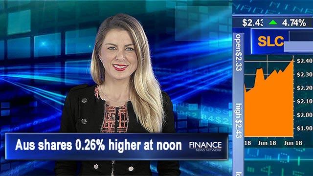Trump meets Kim Jong Un: Aus shares 0.3% higher at noon