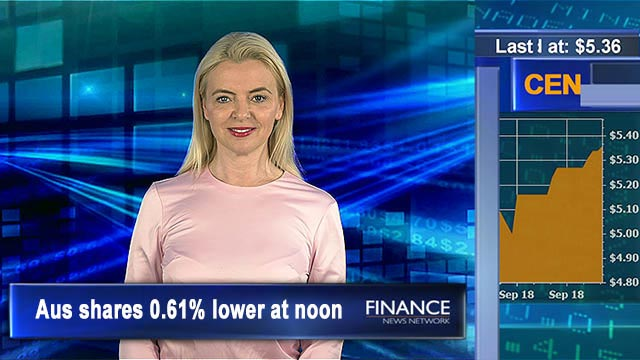 Volumes down due to Labour Day: ASX 0.6% lower at noon