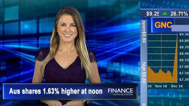 Santa rally erases Friday falls: ASX 1.6% higher at noon