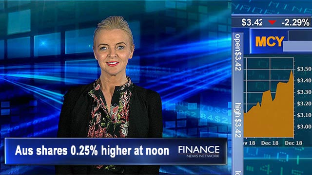 TPG shares drop on merger query: ASX 0.3% higher at noon