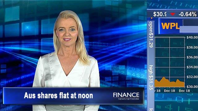 Utilities lead the way: ASX flat at noon