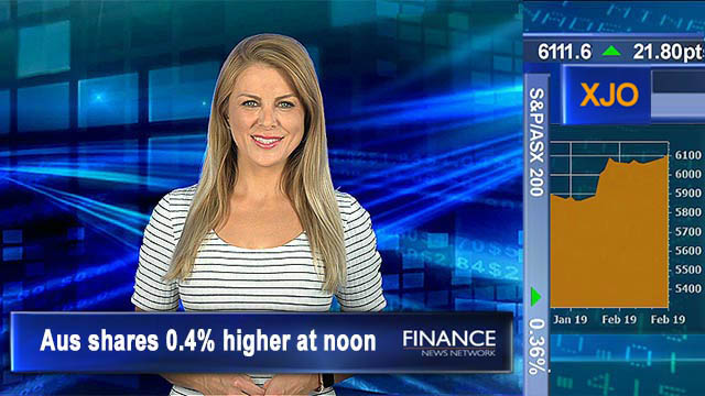 Financials rally despite 'Protecting your Super Bill' passing through house: ASX200 0.4% higher at noon