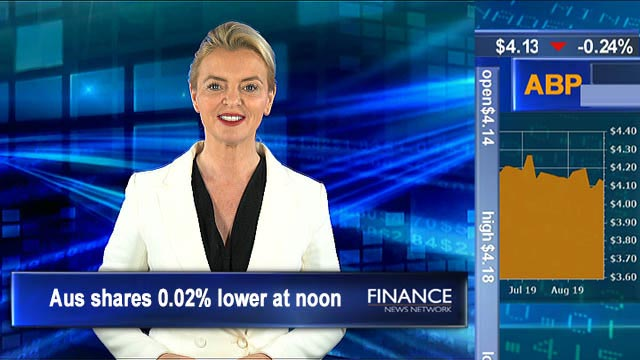 Rates could go to zero: Lowe: ASX 0.02% lower at noon