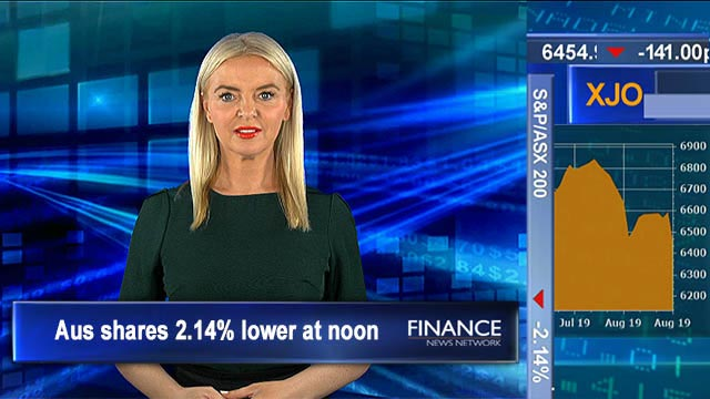 Unemployment rate steady, wages rise: ASX tracking 2.4% lower at noon