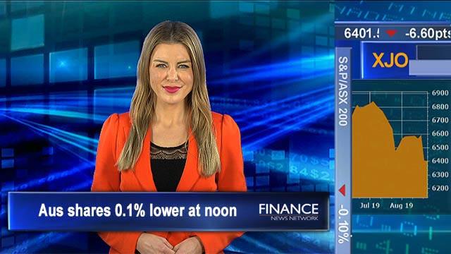 Yo-yo markets continue on US China trade war: Aus shares 0.1% lower at noon