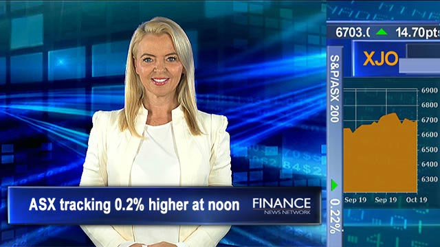 All eyes on rates ahead of RBA decision: ASX is tracking 0.2% higher at noon