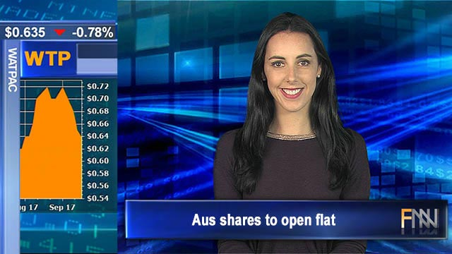 Irma impacts insurers: Aus shares to open flat
