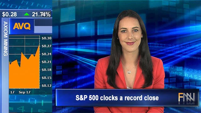 S&P 500 clocks a record close: Aus shares to open higher