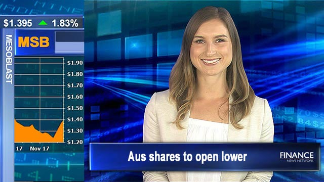 Weak leads from US markets: Aus shares to open lower