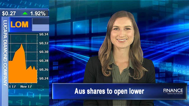 Wall Street closes in the red: Aus shares to open lower
