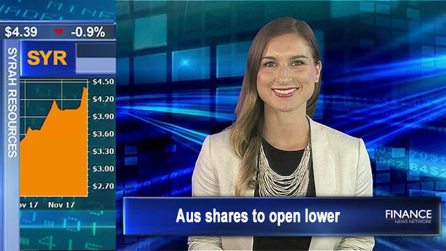 US markets closed for Thanksgiving: Aus shares to open lower