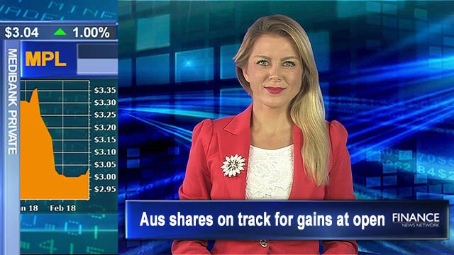 Wall St and commodities rally: Aus shares on track for gains at open