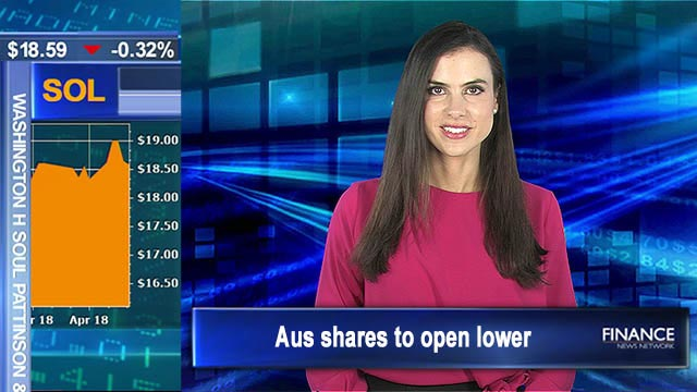 Wall Street closes slightly down: Aus shares to open lower
