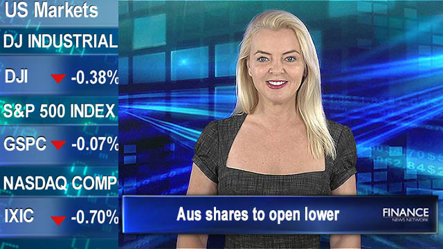 Tech takes a tumble: Aus shares to open lower