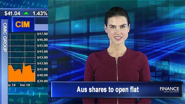 Trade war tensions rattle Wall Street: Aus shares to open flat