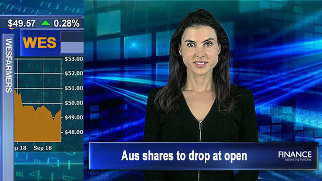 Wall Street lower after jobs data: Aus shares to drop at open