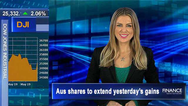 Wall St 2nd best day of year on hints of interest rate easing: Aus shares to extend yesterday's gains