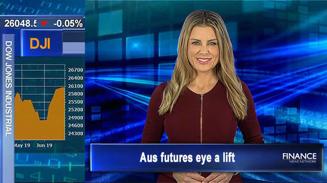 Aus futures eye a lift, extending ASX200's new 11.5 yr high, defying Wall St