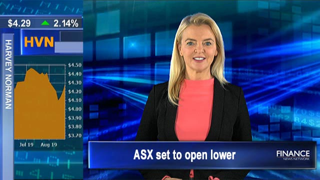 Trump puts China talks in jeopardy: ASX set to open lower