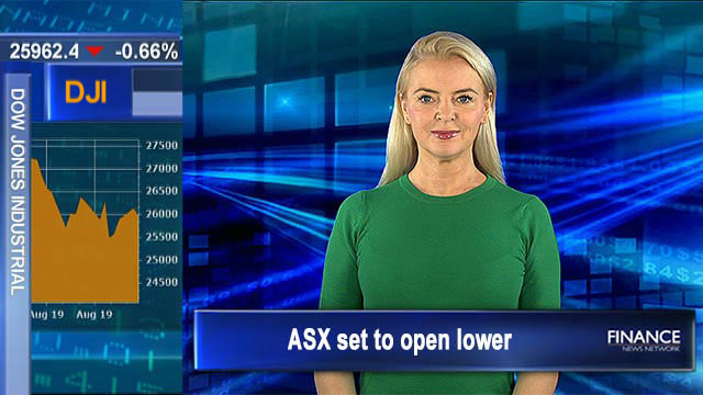 'Somebody had to take on China', Trump: ASX set to open lower