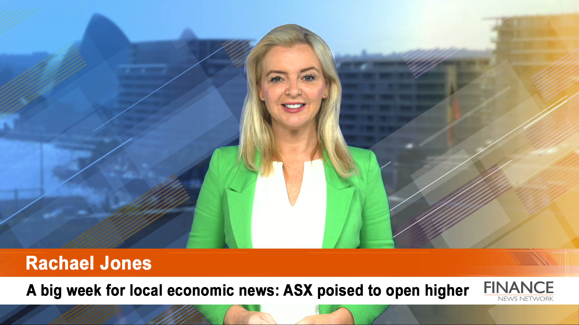 A big week for local economic news: ASX poised to open higher