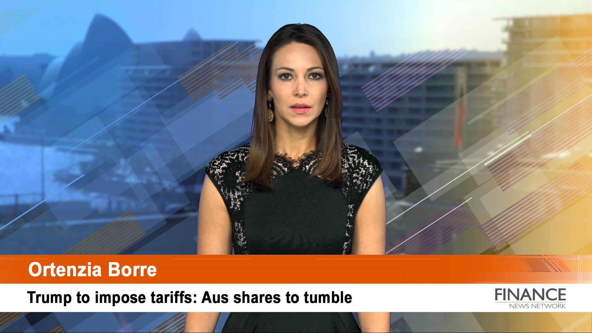 Trump to impose tariffs: Aus shares to tumble