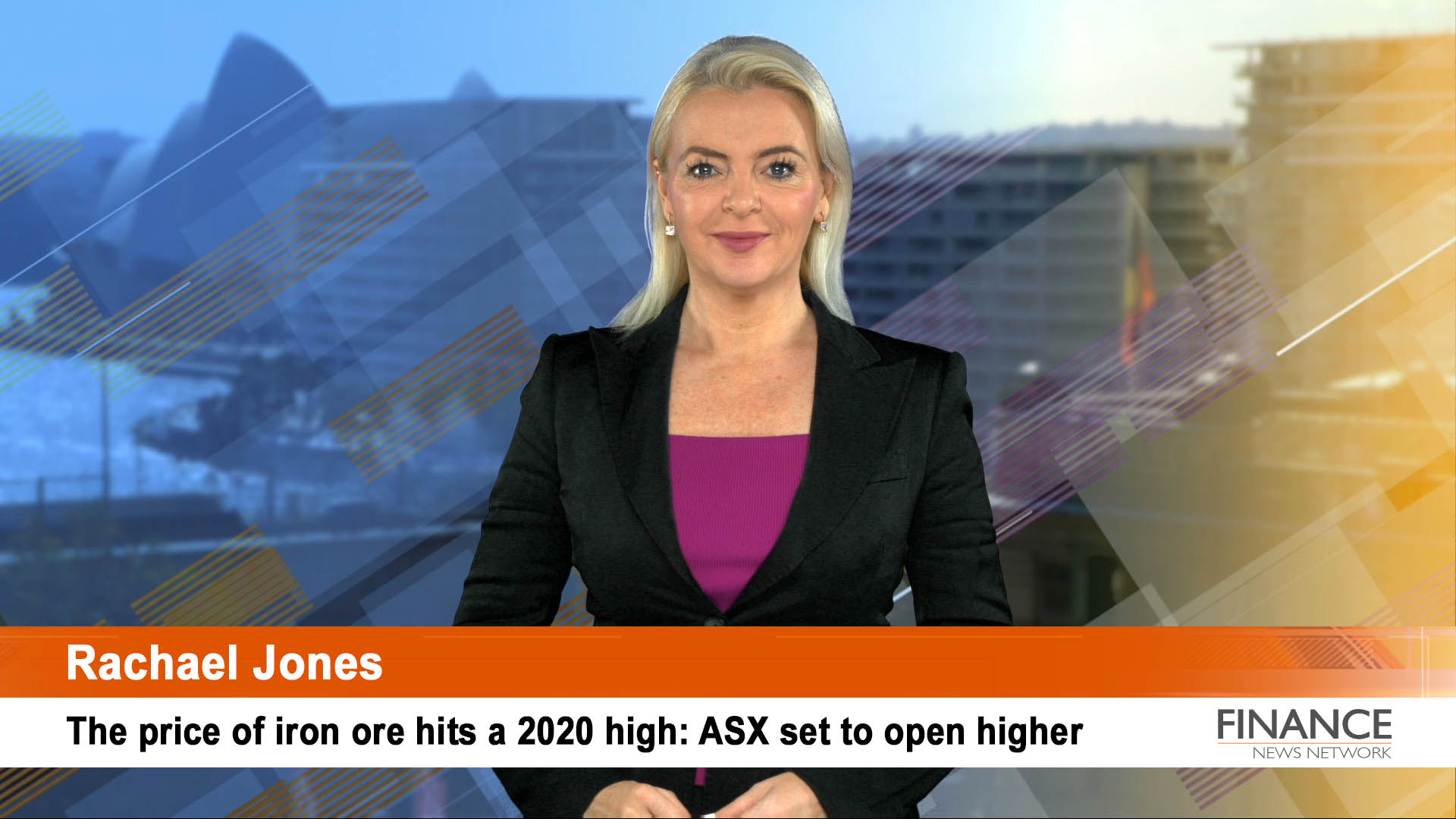 The price of iron ore hits a 2020 high: ASX set to open higher